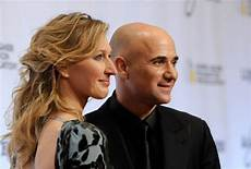 Stefanie Graf And Andre Agassi At The Grand Slam For