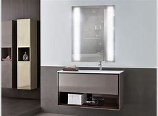Mirrors: Elegant Backlit Bathroom Mirror For Your Modern