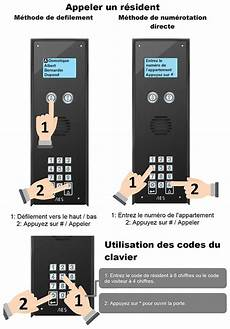 Interphone Immeuble Sans Fil Via Gsm Portier Collectif 250
