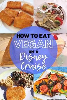 ultimate guide to disney cruise vegan food
