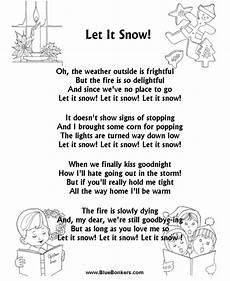 originally titled let it snow let it snow let it snow