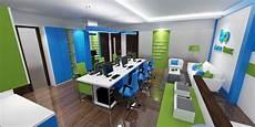 Gallery Desain Interior Ruang Kerja Terbuka Amar Bank