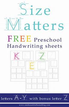 handwriting worksheets letters of all sizes 21474 handwriting worksheets for 187 one beautiful home