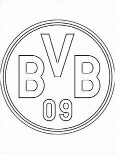 Ausmalbilder Fussball Manchester City Manchester City Kleurplaat Bvb Logo Zum Ausmalen Social