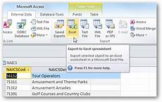 share ms access data with ms excel microsoft office support