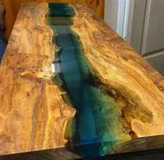 bois et resine epoxy epoxy table in 2019 wood resin table resin table glow