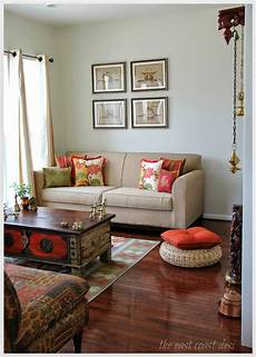 Living Room Ethnic Indian Home Decor Ideas by Curated Home Vs Decorated Home Interiors Ethnic Home