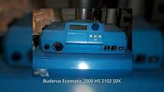 buderus ecomatic 2000 hs 2102 s0x heizung steuerung