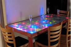 Interactive Led Dining Table Dining Table With A Frosted