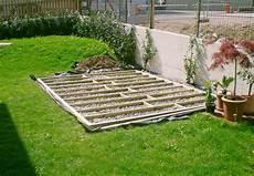 Garten Podest Selber Bauen - gestalten mit holz