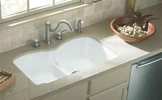 kohler k 6626 6u 0 langlade smart divide undercounter kitchen sink white double bowl sinks
