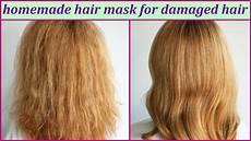 best hair masks for dry damaged hair homemade hair mask for damaged hair youtube