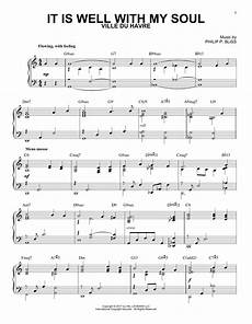 it is well with my soul jazz version sheet music