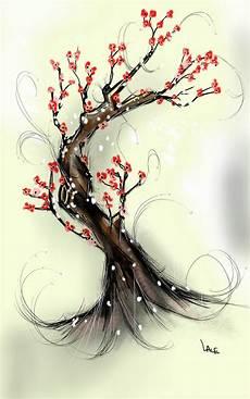 fleur de cerisier dessin draw something cerisier