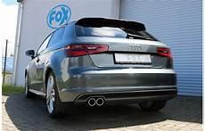 Fox Sportauspuffanlage Ab Audi A3 8v 3 T 252 Rer S Line