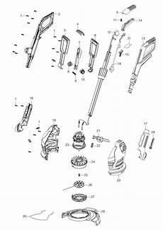 Gardena Ersatzteile Rasentrimmer - ersatzteile gardena trimmer easycut 400 25 9807