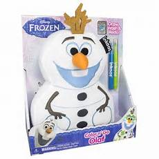 coloring printables for kindergarten 12895 inkoos frozen color and go olaf from the bridge direct