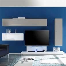 tv podest hochglanz wohwand in wei 223 beige tv podest 4 teilig
