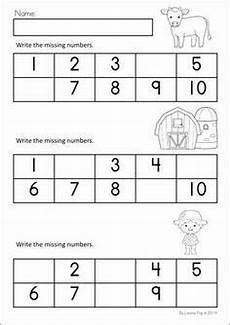 image result for writing the missing number 1 10 worksheet farm math math literacy literacy