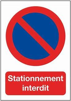 papier autocollant dissuasif rectangulaire stationnement