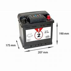 batterie voiture prix batteria one 40ah 340a norauto it