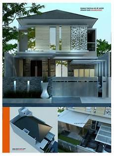 Desain Rumah Modern Minimalis 2 Lantai