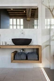 badezimmer holz waschtisch waschtisch holz originelles design bad in 2019