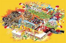 Plattegrond Legoland 174 Discovery Centre Oberhausen Rides