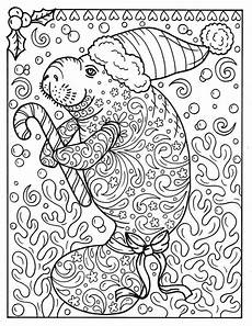 manatee coloring page instant etsy