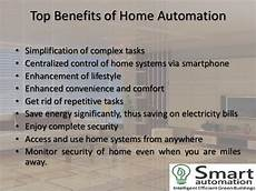 Benefits Of Home Automation smart home automation few benefits