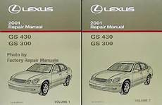 free service manuals online 2001 lexus gs electronic valve timing 2001 lexus gs430 gs300 factory service manual set original shop repair factory repair manuals