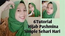 6 Tutorial Pashmina Simple Sehari Hari By Firda