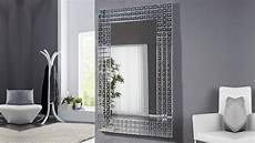 grand miroir moderne design avec facettes 180 cm easton