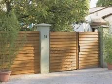 Faire Portail Bois 10 Solutions Pour Embellir Portail Et Sa Cl 244 Ture