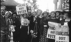 21 Avril 1944 Les Fran 231 Aises Obtiennent Le Droit De Vote