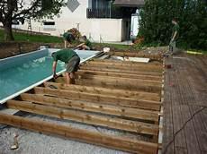 Construire Terrasse Bois Autour Piscine Hors Sol