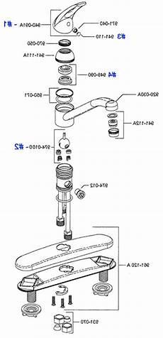Pfister Kitchen Faucet Parts Delta Single Handle Kitchen Faucet Repair Diagram Dandk