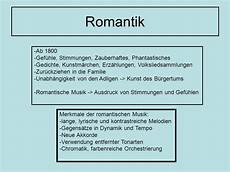 Romantik Schubert Ppt Herunterladen