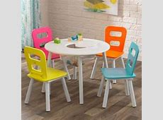 KidKraft Storage Kids' 5 Piece Table and Chair Set