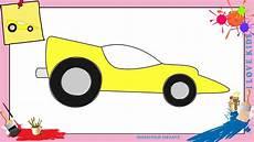 voiture en dessin dessin voiture de course 2 comment dessiner une voiture