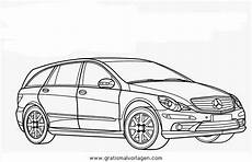 Auto Malvorlagen Mercedes Mercedes R Gratis Malvorlage In Autos2 Transportmittel