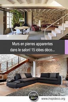 Murs En Pierres Apparentes Dans Le Salon 15 Id 233 Es Pour