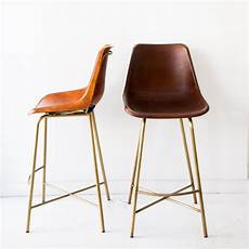 huck leather stool black rooster decor