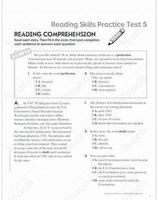 grade 5 reading comprehension worksheets pdf briefencounters
