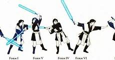 7 forms of lightsaber combat