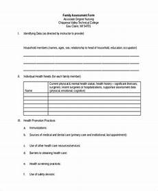 free 25 sle assessment forms in word pdf