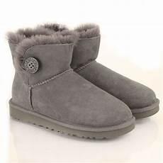 ugg 174 grey mini bailey button s boot