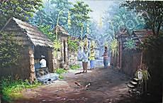 Kp 07 Lukisan Kung Bali Jaman Dulu Www Lukisan