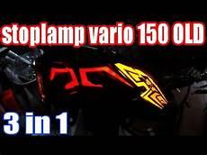 Modifikasi Vario 125 Led by Modifikasi Stopl Honda Vario 125 150 Led Chudax