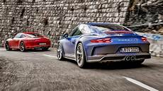 Porsche 911 T Vs Porsche Gt3 Touring Top Gear